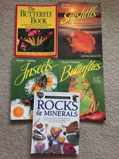 Insects, Butterflies, Seashells, Rock & Minerals, PERFECT FOR EDUCATIONAL PURPOSES, More INFO & PHOTOS