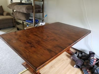 Farmhouse table and chairs need gone ASAP