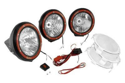 Purchase Rugged Ridge 15205.64 - Off Road Black HID Fog Light Kit motorcycle in Suwanee, Georgia, US, for US $461.71