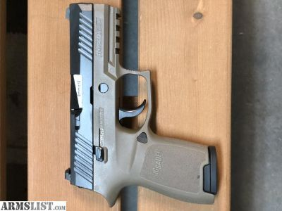 For Sale: Sig P320 Compact FDE
