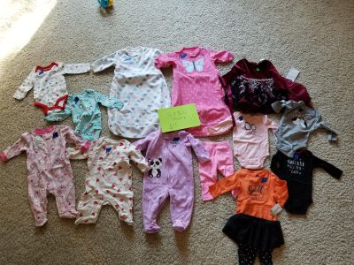 3 / 3-6 month baby girl clothes