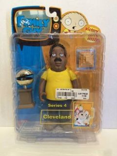 Family Guy 2005 Series 4 Cleveland Action Figure