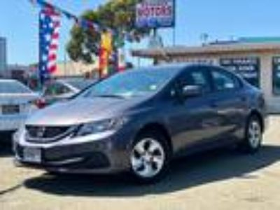 2015 Honda Civic LX Sedan 5-Speed AT Gray, BEST DEAL