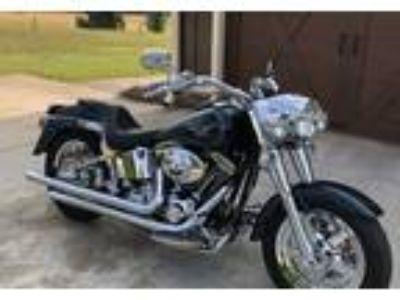 2001 Harley-Davidson FLSTF-Fat-Boy-Softail Cruiser in Calhoun, GA