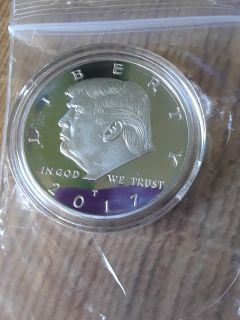 2017 Silver Plated coin