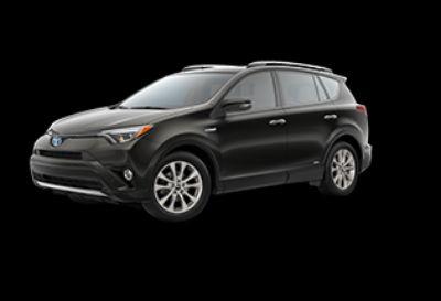 2018 Toyota RAV4 Limited Hybrid AWD-i (Black Sand Pearl)