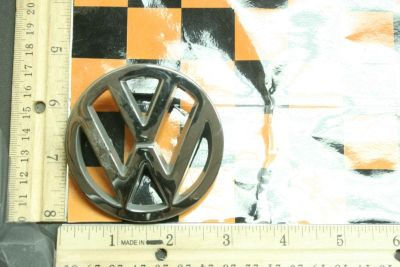 Buy 1990-1994 357853601 Volkswagen Corrado Passat Rear Trunk OEM Emblem with Prongs motorcycle in Hollywood, Florida, US, for US $9.99