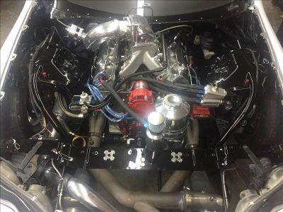 Complete 454ci SBC brodix aluminum