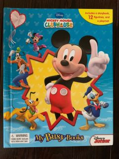 Mickey Mouse Clubhouse Busy Book