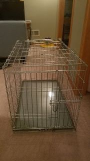 Dog Crate Metal Foldable