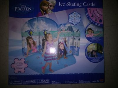 Brand new toddlers frozen pop up castle