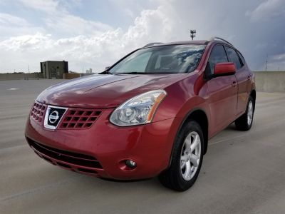 2008 Nissan Rogue S SULEV (Red)