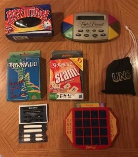 Travel/compact group of games