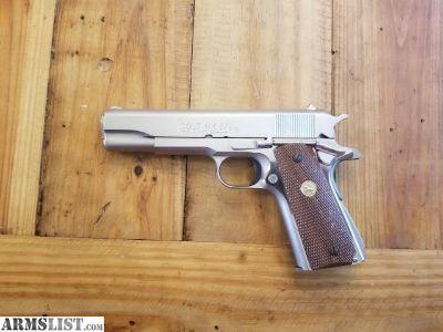 For Sale: Colt 1911 Mark IV Stainless