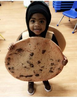 Chocolate chip cookie costume