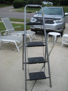 Tricam 3 Step Steel Ladder