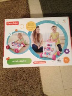 Fisher price activity walker