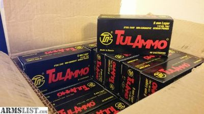 For Sale: Tula 9mm ammo boxes