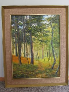Vintage 1970's Oil Painting - Signed