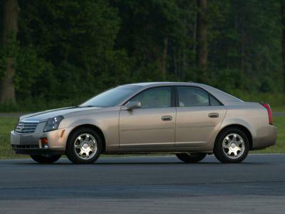 2004 Cadillac CTS Base (White Diamond)