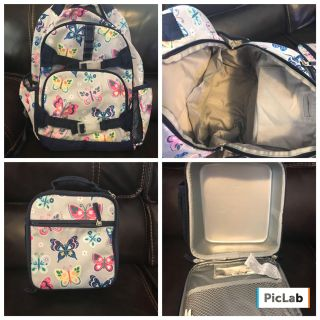 Backpack and lunch box