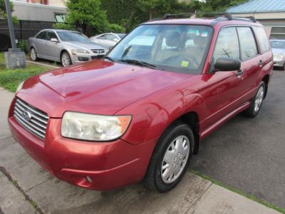 2008 Subaru Forester 2.5 X (RED)