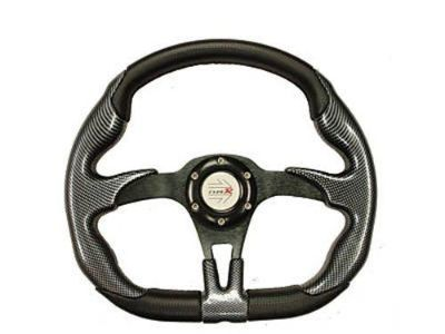 Purchase YAMAHA GOLF CART OFFROAD STEERING WHEEL (Blk/Blk) w/Adp motorcycle in Hanover, Indiana, US, for US $99.95