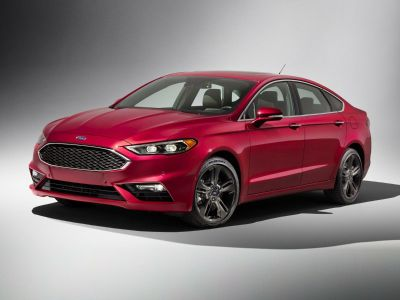 2018 Ford Fusion SE (Ruby Red)