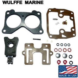 Buy Carburetor Repair Kit with Float Johnson Evinrude 85-235 Hp Rplcs 439076 18-7046 motorcycle in Mentor, Ohio, United States, for US $19.99