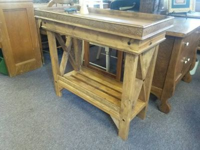 Handmade Rustic Table