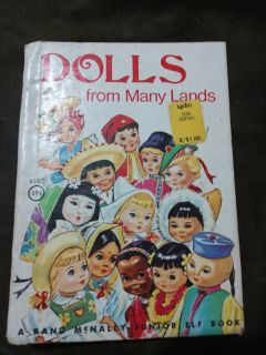 1975 Dolls from Many Lands book