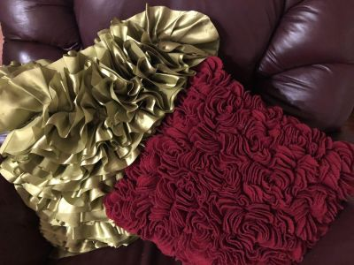 Two Pier One Pillows