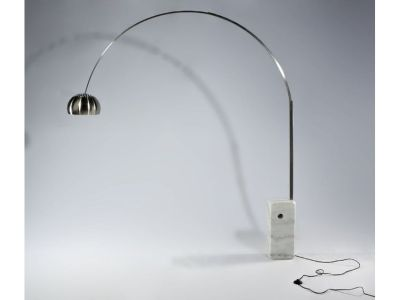 NEW Marble Base Floor Lamp 2 Color Options Ships