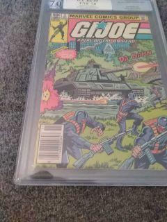 G.l. Joe #5 Nov 1982 PGX 7.0