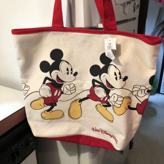 NWT! Large Mickey Mouse canvas tote