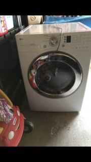 lg front load dryer gas