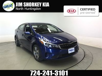 2018 Kia Forte (Deep Sea Blue)