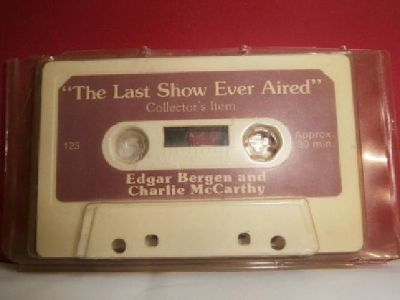 $5 Collector Cassette Tape - Edgar Bergen and Charlie McCarthy