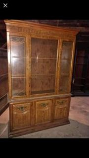 looking for a solid wood china hutch that needs repairs for a project