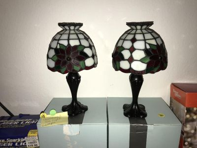 Party Lite Christmas lamps