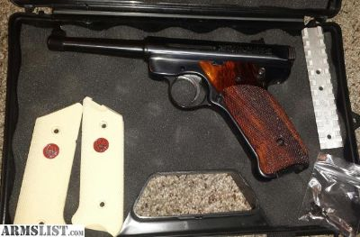 For Sale/Trade: Ruger Mark III .22 pistol