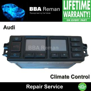 Sell Audi Climate Control Repair Service Heater Head AC A4 A6 A8 TT Quattro Allroad motorcycle in Taunton, Massachusetts, United States