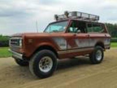 1979 International Harvester Scout II Rallye