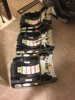 Chicco car seat bases.