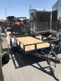 "2019 PJ Trailers 10' X 60"" SA UTILITY TRAILER Equipment Trailer Trailers Elk Grove, CA"