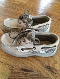 Boys Sperry Top-Sider Boat Shoes - 9.5W