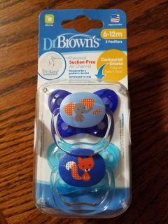 NEW Dr. Browns Pacifiers