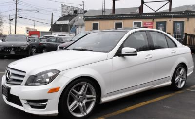 2013 Mercedes-Benz C-Class C300 4MATIC Luxury (White)