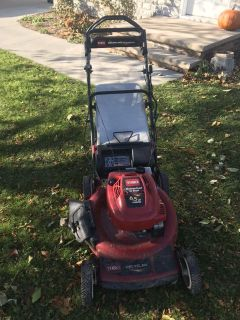Toro personal pace lawn mower.
