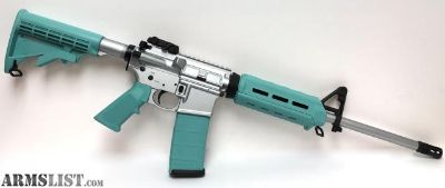 For Sale: Tiffany and Stainless S&W M&P Sport II AR-15